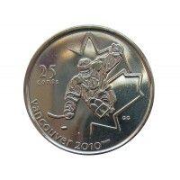Канада 25 центов 2009 г. (Хоккей на санях)