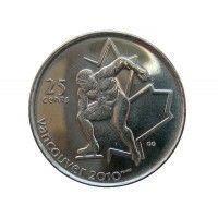 Канада 25 центов 2009 г. (Конькобежный спорт)