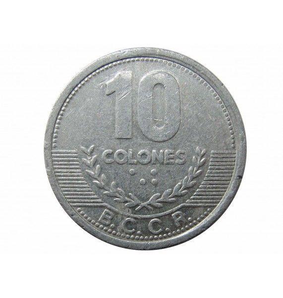 Коста-Рика 10 колон 2008 г.