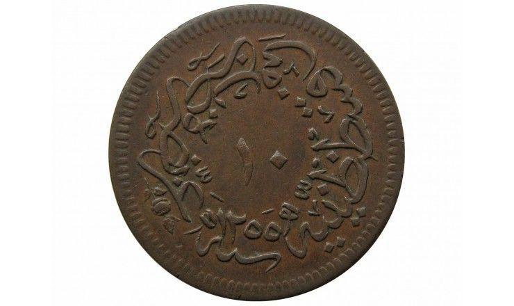 Турция 10 пара 1255/19 г.