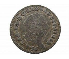 Сардиния 2,6 сольдо 1756 г.