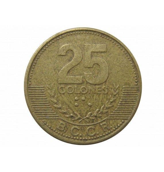 Коста-Рика 25 колон 2001 г.