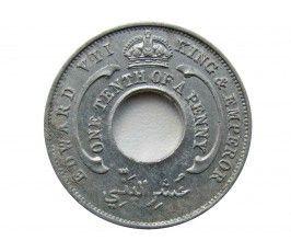 Британская Западная Африка 1/10 пенни 1908 г.