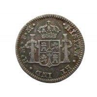 Мексика 1/2 реала 1795 г.