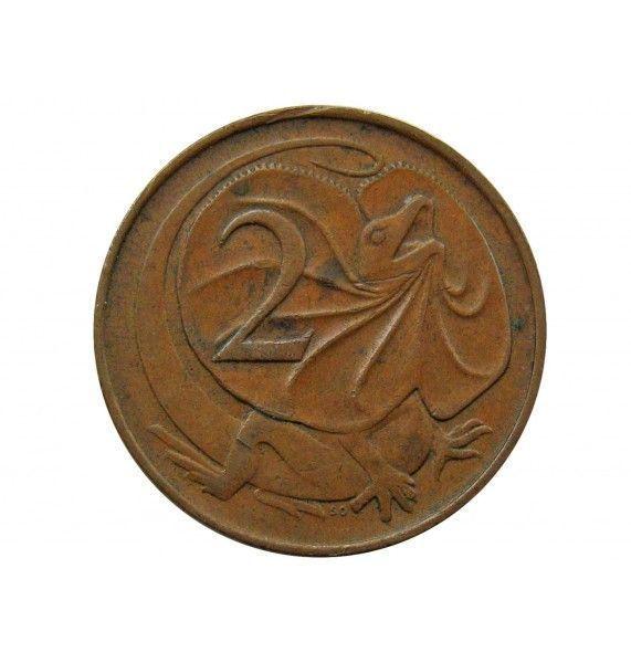 Австралия 2 цента 1967 г.