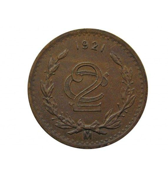 Мексика 2 сентаво 1921 г.