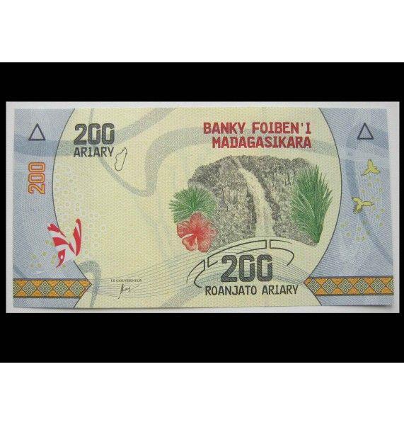 Мадагаскар 200 ариари 2017 г.