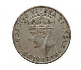 Британская Восточная Африка 1 шиллинг 1942 г. I