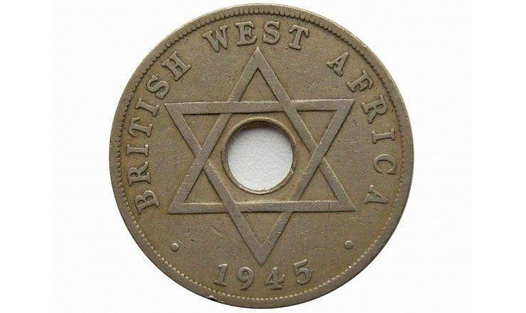 Британская Западная Африка 1 пенни 1945 г. KN