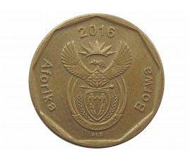 Южная Африка 20 центов 2016 г.