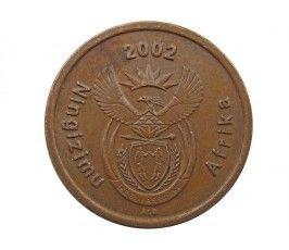 Южная Африка 5 центов 2002 г.