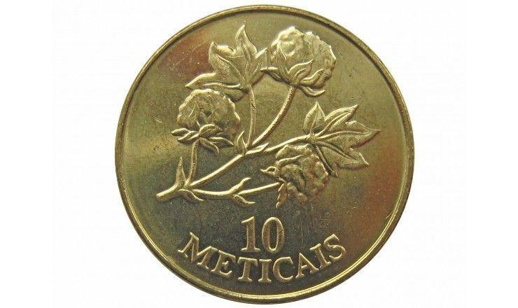 Мозамбик 10 метикал 1994 г.