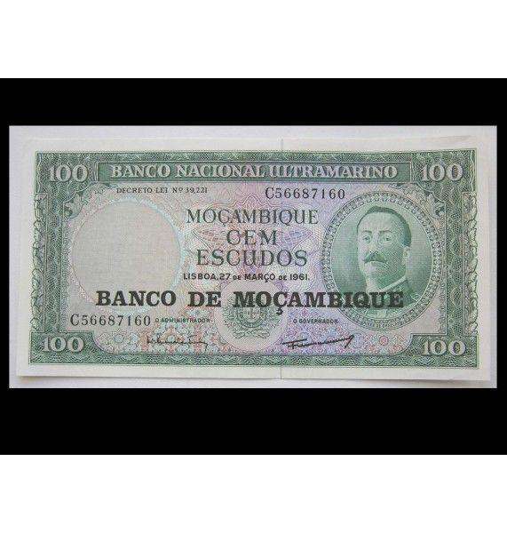 Мозамбик 100 эскудо 1961 г.