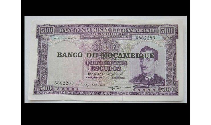 Мозамбик 500 эскудо 1967 г.