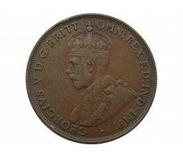 Австралия 1 пенни 1921 г. (m sy)