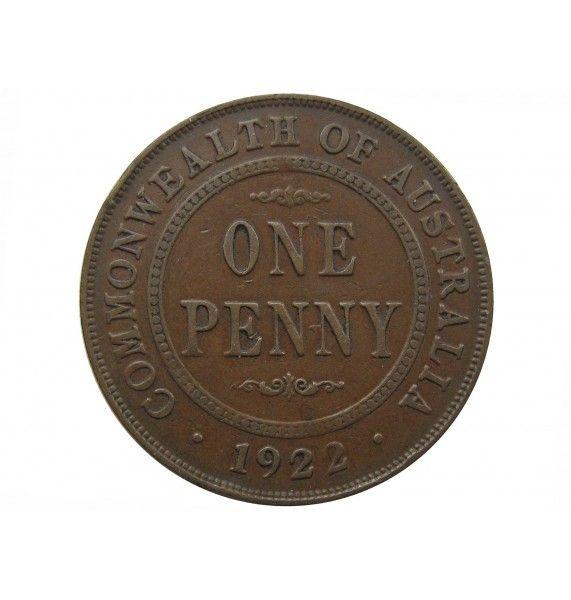 Австралия 1 пенни 1922 г. (m p)
