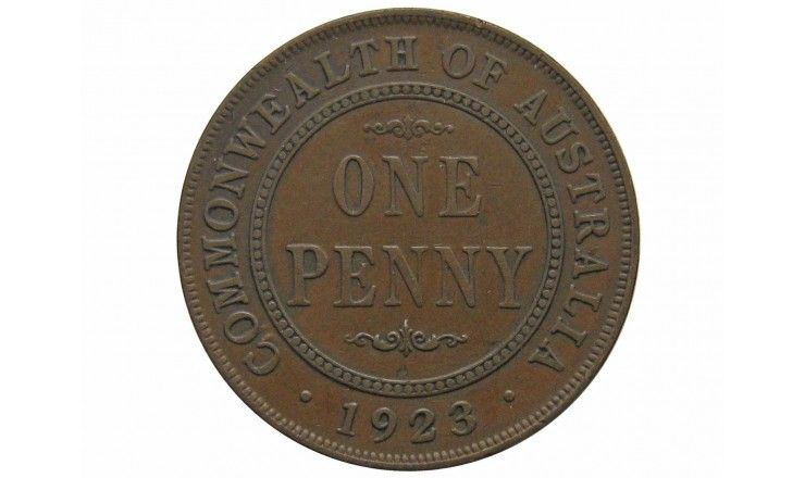 Австралия 1 пенни 1923 г. (m)