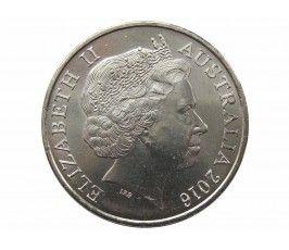 Австралия 20 центов 2016 г. (Фромель)