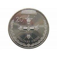 Австралия 20 центов 2017 г. (Военный Крест)
