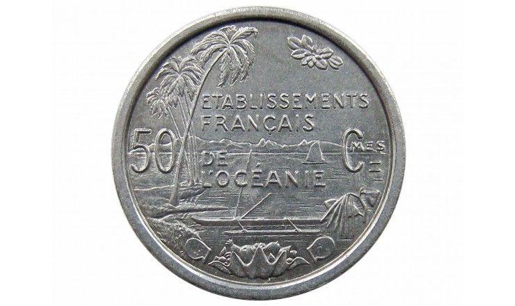 Французская Океания 50 сантимов 1949 г.