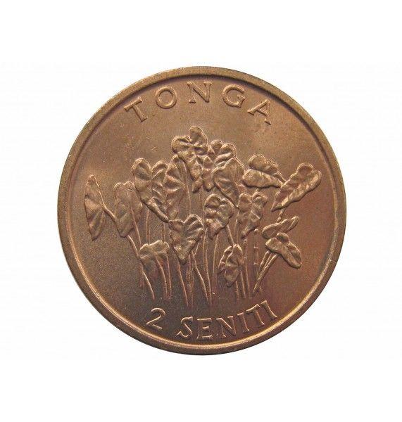 Тонга 2 сенити 1981 г.