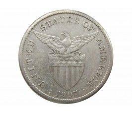 Филиппины 1 песо 1907 г. S