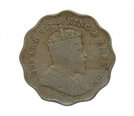 Индия 1 анна 1909 г.