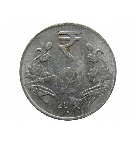Индия 2 рупии 2012 г.