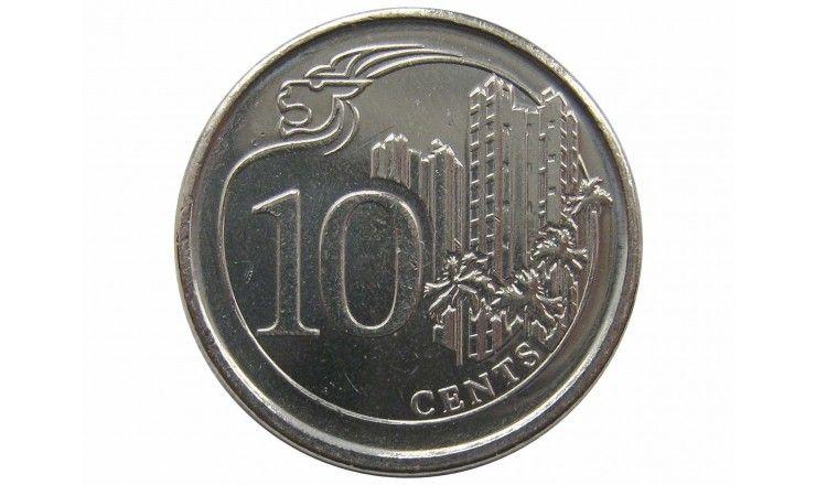 Сингапур 10 центов 2017 г.