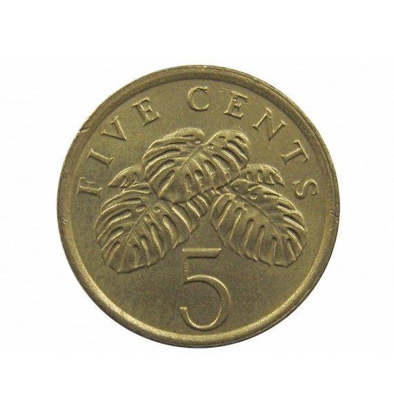 Сингапур 5 центов 1985 г.
