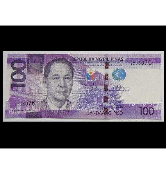 Филиппины 100 песо 2015 г.