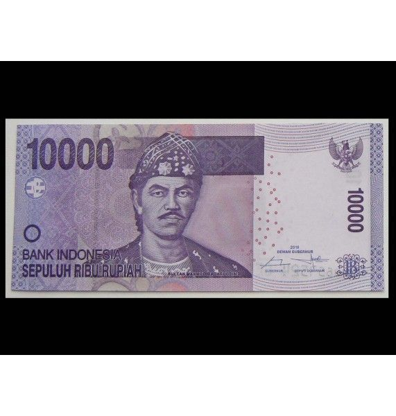 Индонезия 10000 рупий 2016 г.