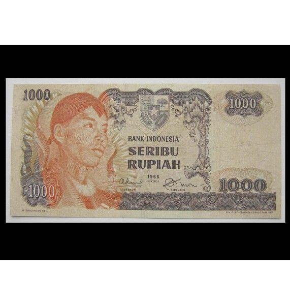 Индонезия 1000 рупий 1968 г.