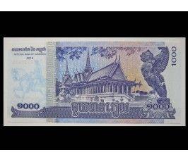 Камбоджа 1000 риелей 2016 г.
