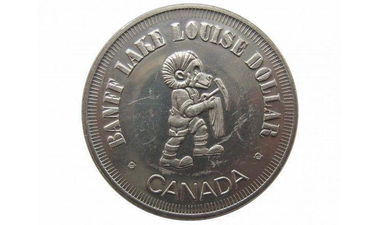 Канада 1 доллар (торговый) 1980 г.