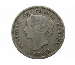 Канада 5 центов 1893 г.