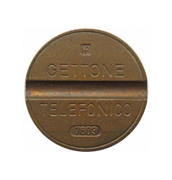 Италия телефонный жетон