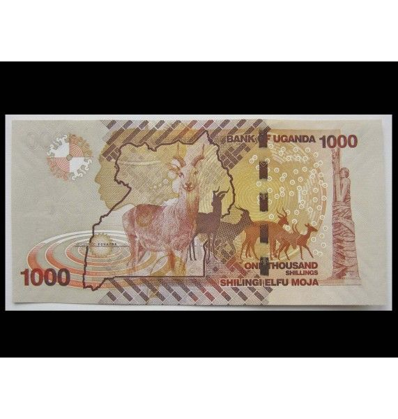 Уганда 1000 шиллингов 2010 г.