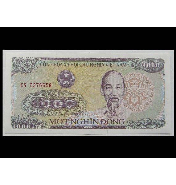 Вьетнам 1000 донг 1988 г.