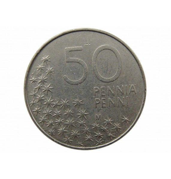 Финляндия 50 пенни 1991 г.
