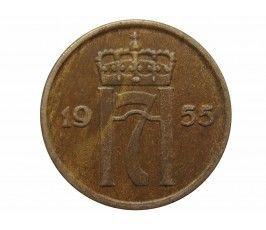 Норвегия 2 эре 1955 г.