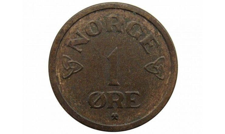 Норвегия 1 эре 1955 г.