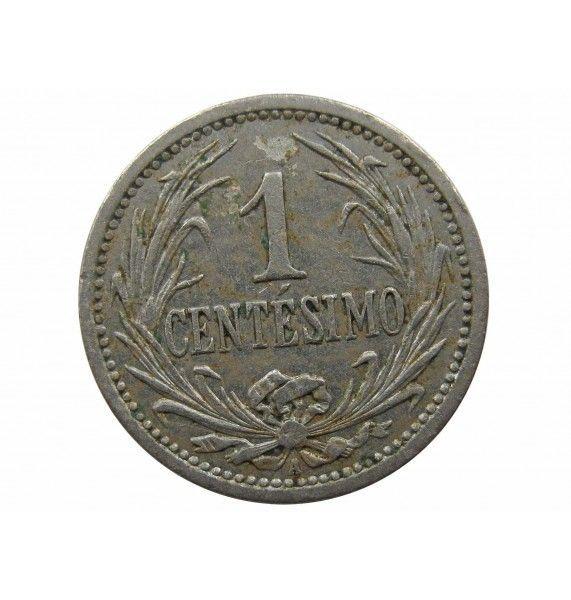 Уругвай 1 сентесимо 1909 г.