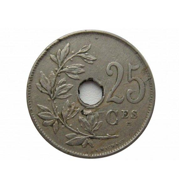 Бельгия 25 сантимов 1923 г. (Belgique)