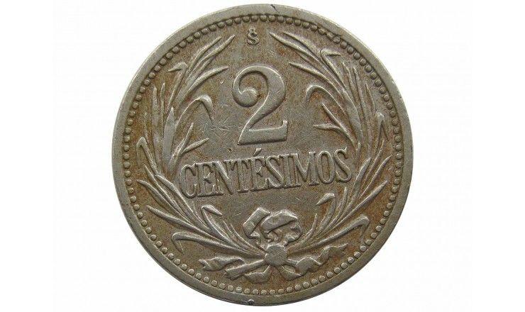 Уругвай 2 сентесимо 1941 г.