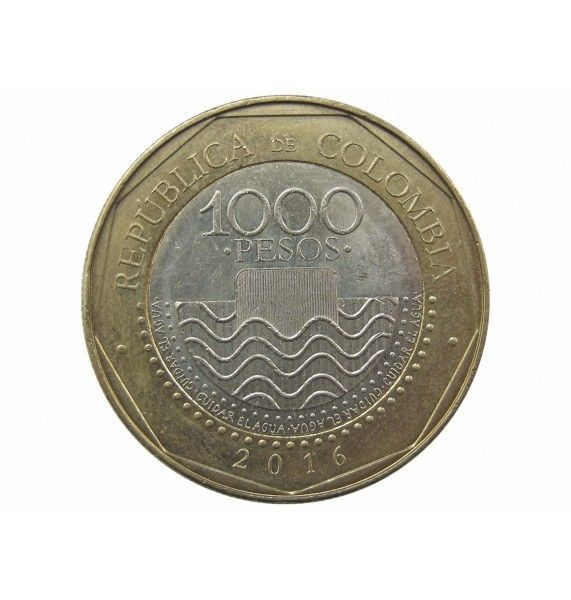 Колумбия 1000 песо 2016 г.