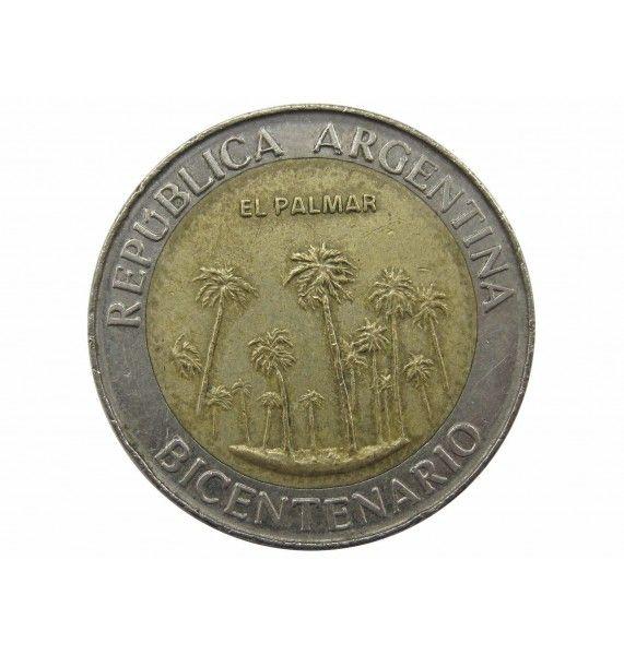 Аргентина 1 песо 2010 г. (Национальный парк  Эль-Пальмар)