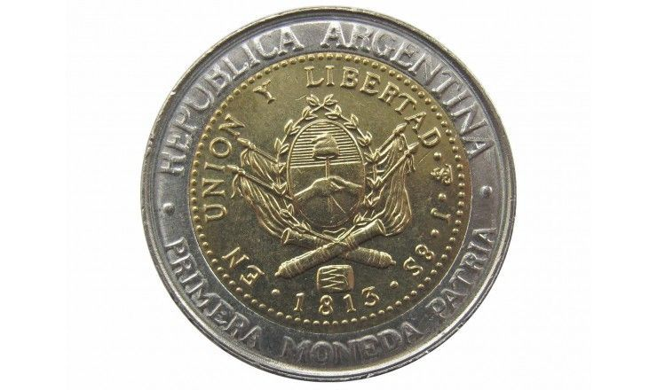Аргентина 1 песо 2016 г.