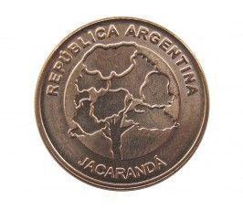 Аргентина 1 песо 2017 г.