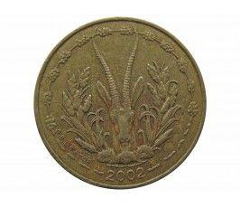 Западно-Африканские штаты 5 франков 2002 г.